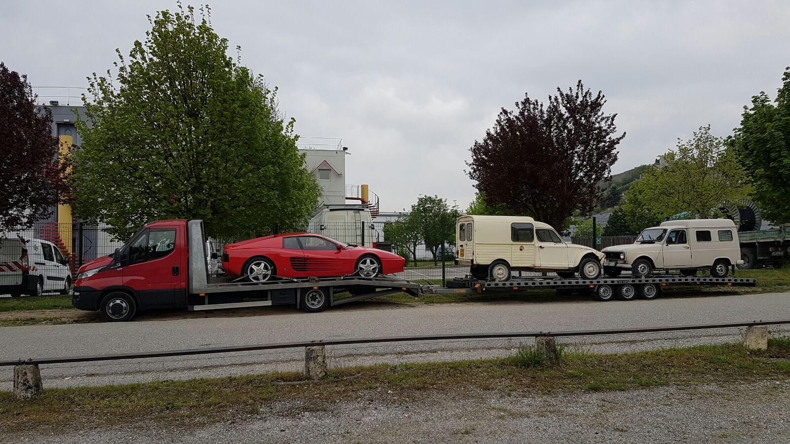 Testarossa transport