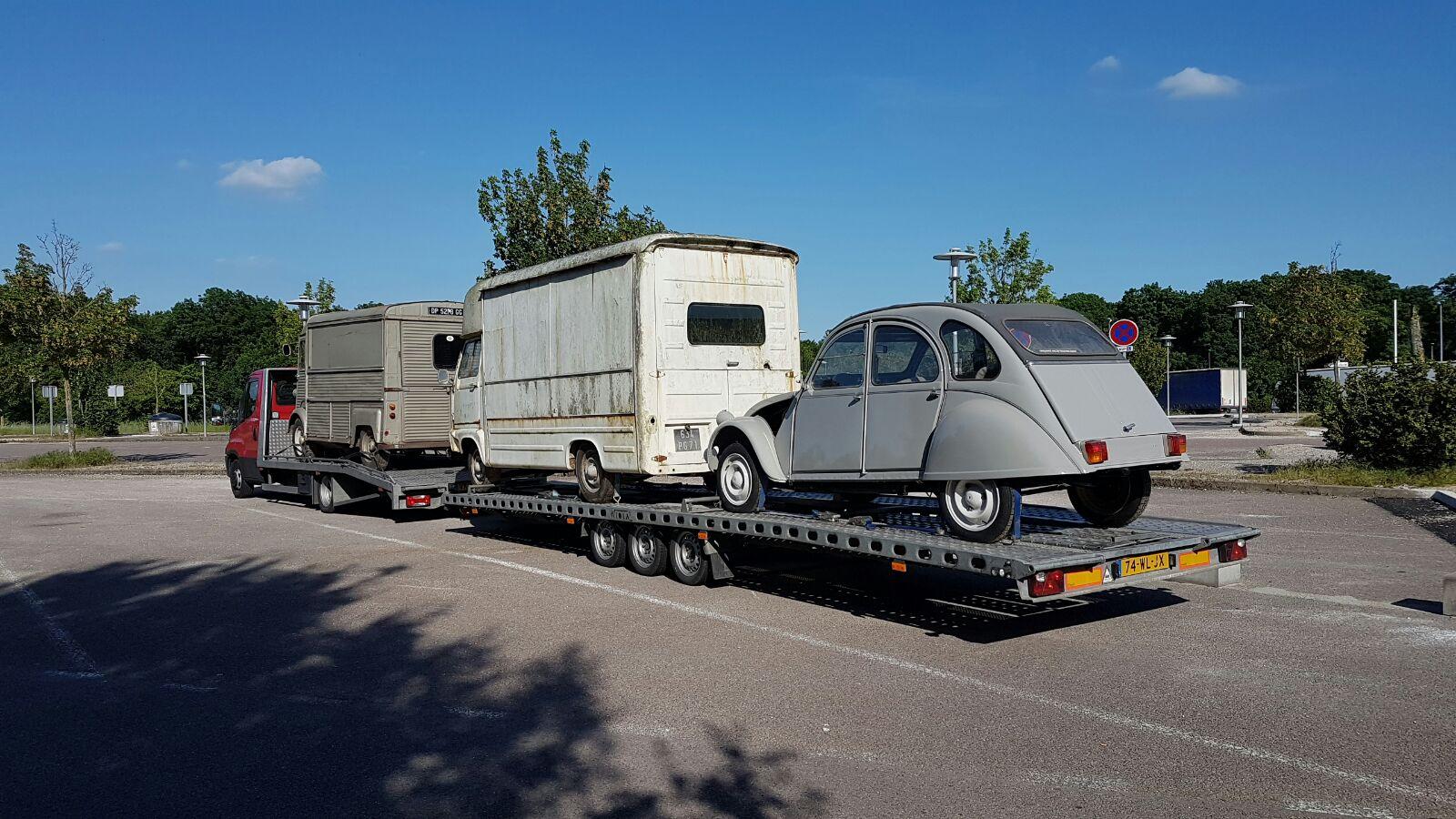 Transport 3 Citroëns